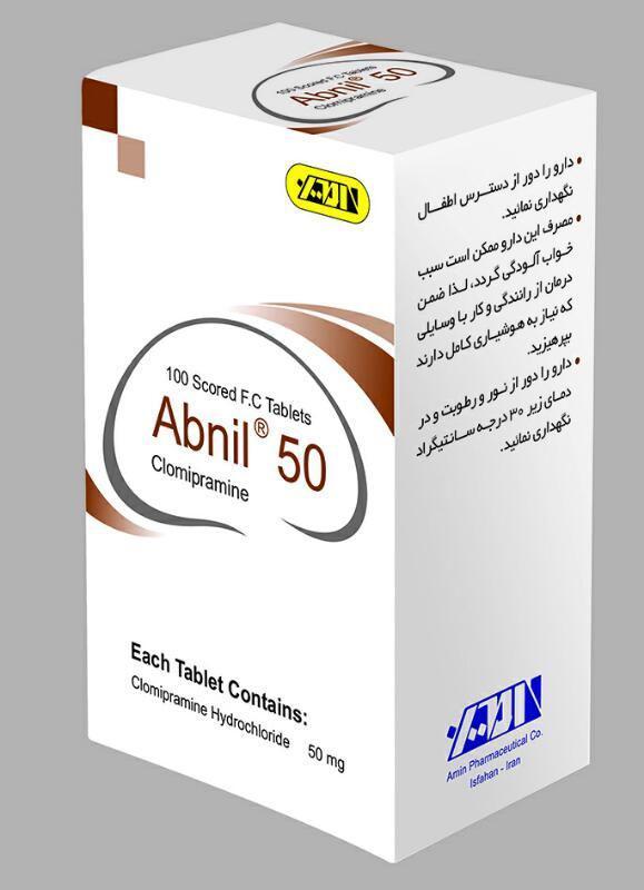 Clomipramine-50,75mg F.C Tablet