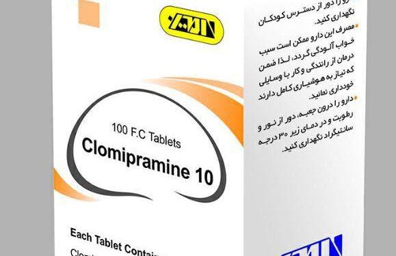 Clomipramine-10,25mg F.C Tablet