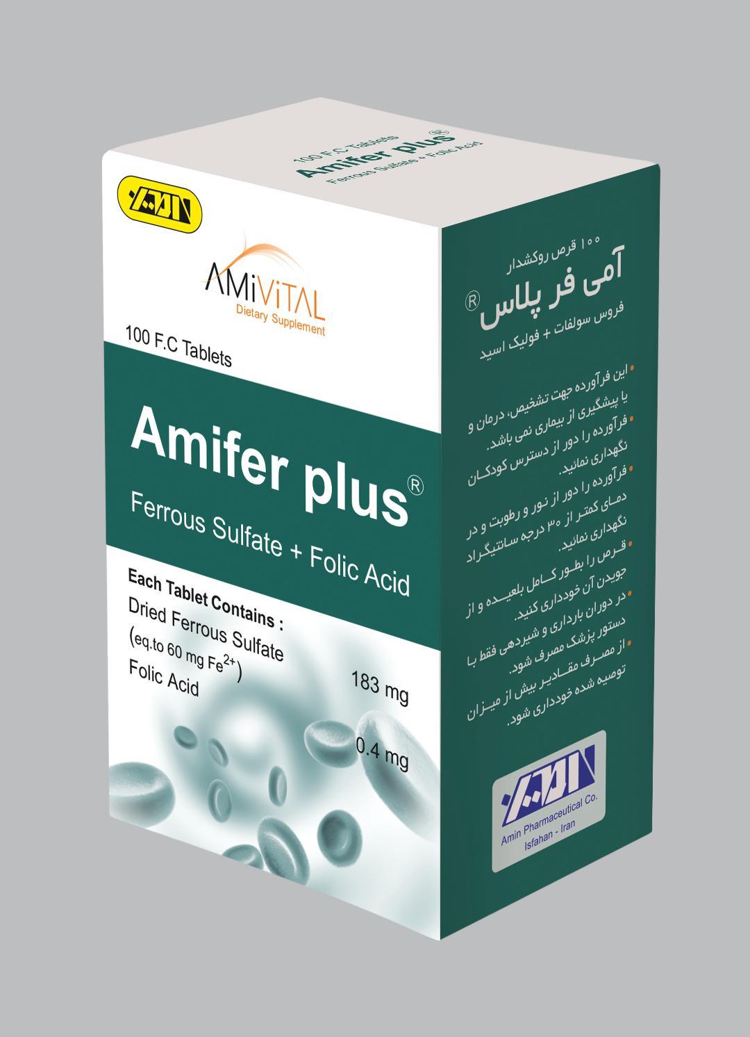 Ferrous Sulfate+Folic Acid Tablet