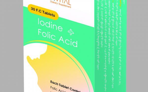 Iodine-Folic